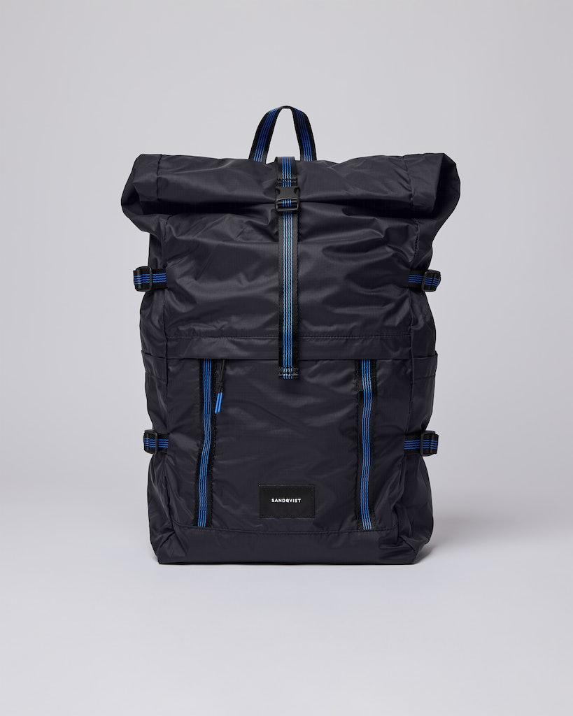 Sandqvist - Backpack - Black - BERNT LW