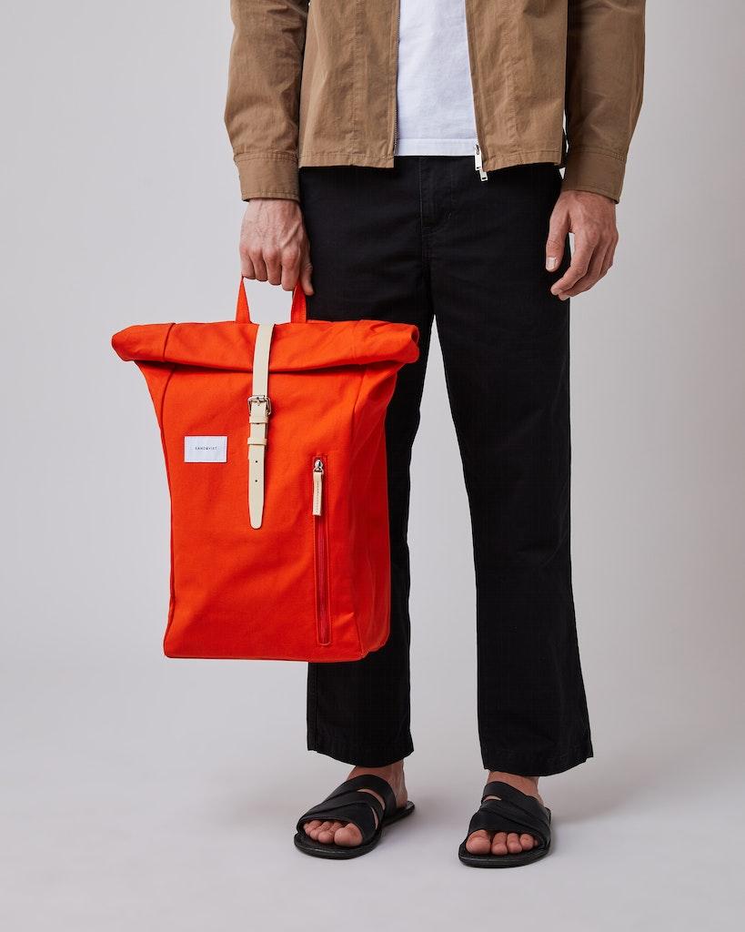 Sandqvist - Backpack - Red - DANTE 2