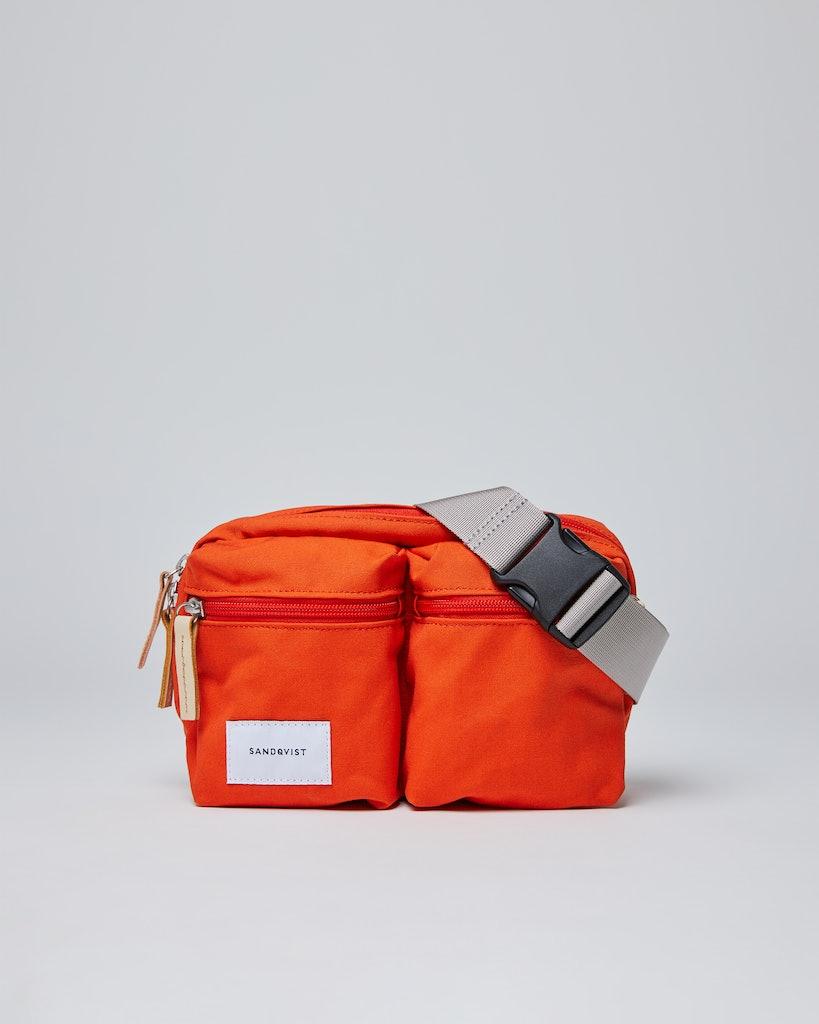 Sandqvist - Bum bag - Red - PAUL
