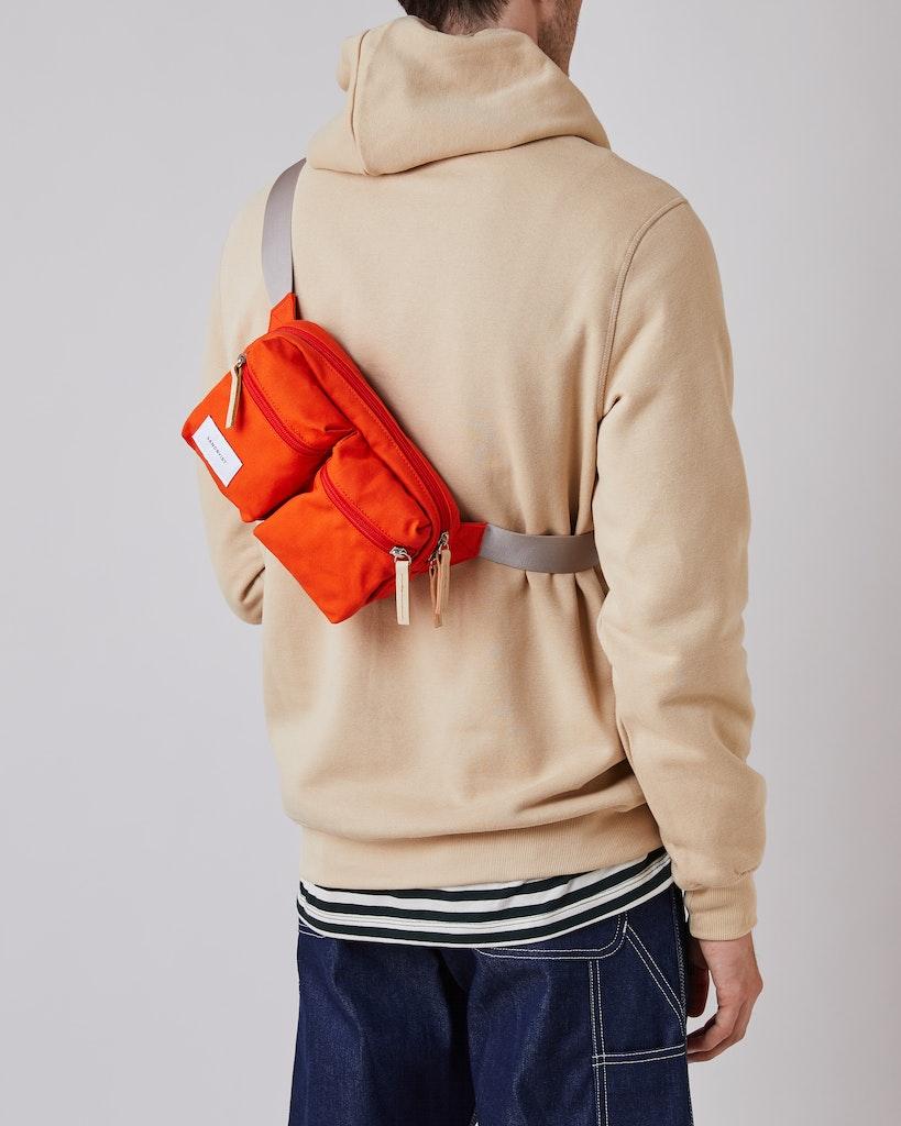 Sandqvist - Bum bag - Red - PAUL 2