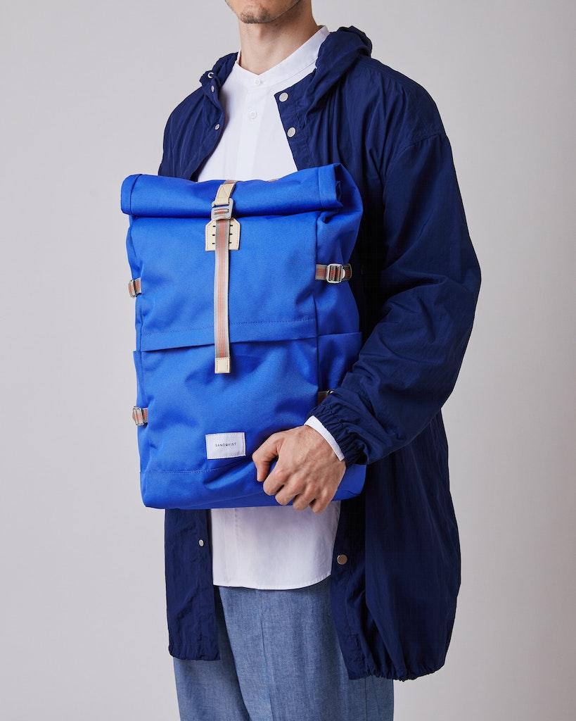 Sandqvist - Backpack - Blue - BERNT 2