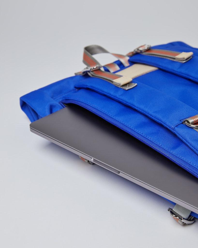 Sandqvist - Backpack - Blue - BERNT 4