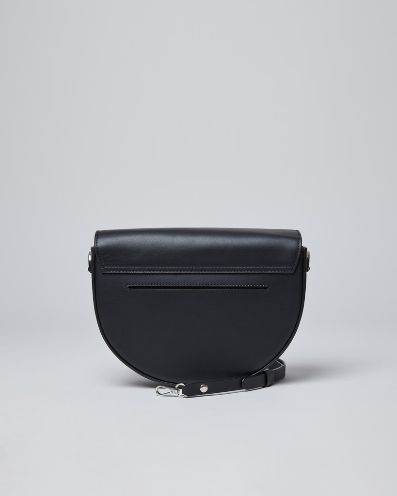 Sandqvist - Shoulder bag - Black - SELMA LEATHER 3