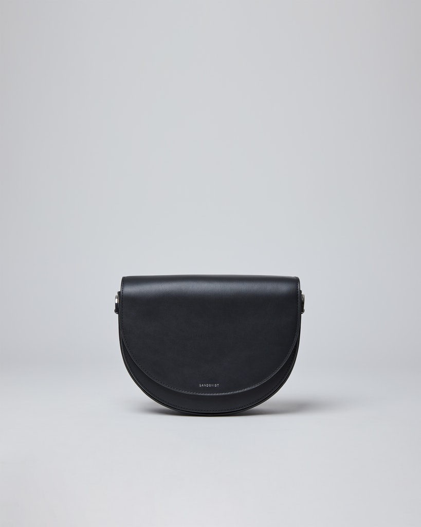Sandqvist - Shoulder bag - Black - SELMA LEATHER
