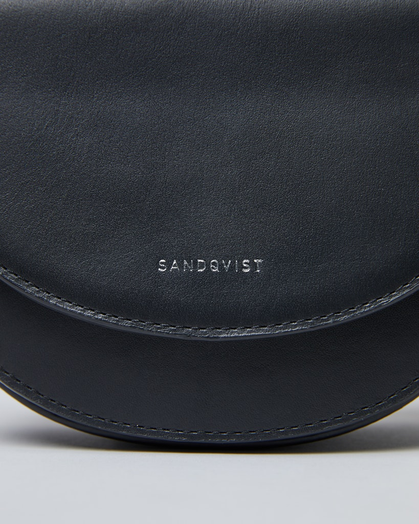 Sandqvist - Handväska - Svart - VENDELA LEATHER 1