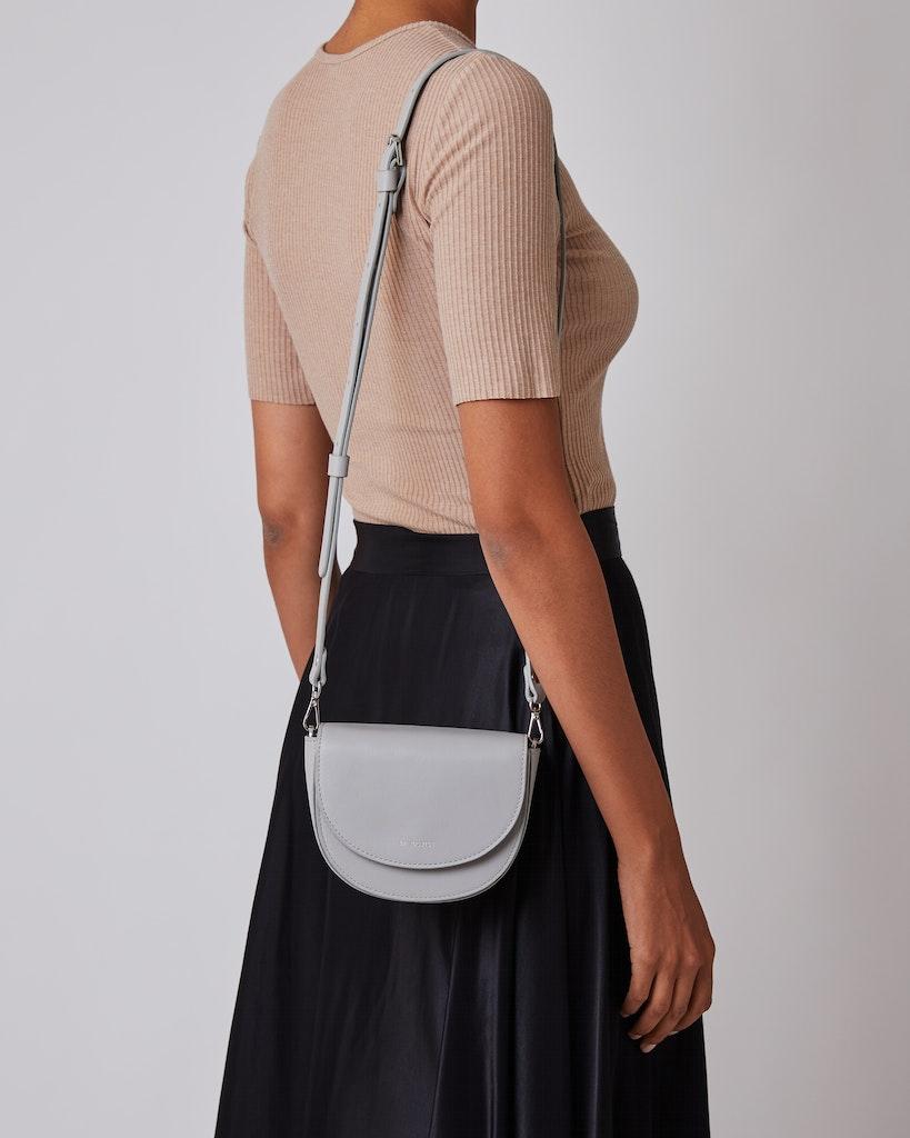 Sandqvist - Shoulder bag - Grey - VENDELA LEATHER 4