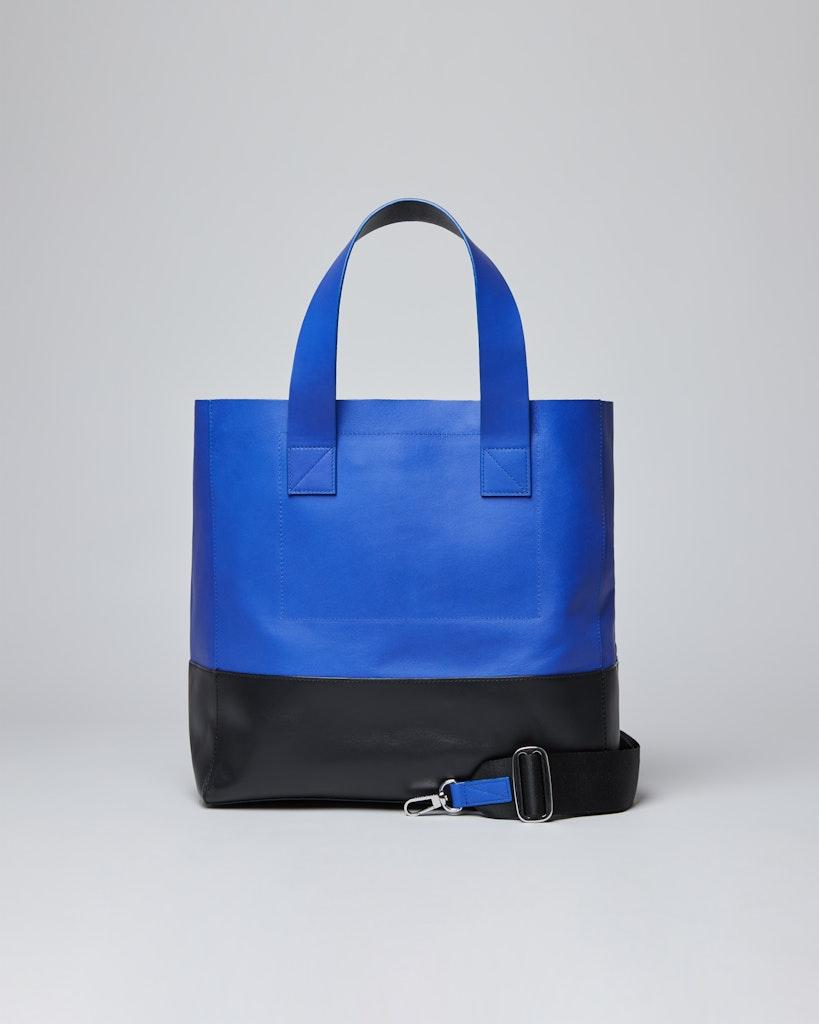 Sandqvist - Tote Bag - Blå och svart - IRIS 3