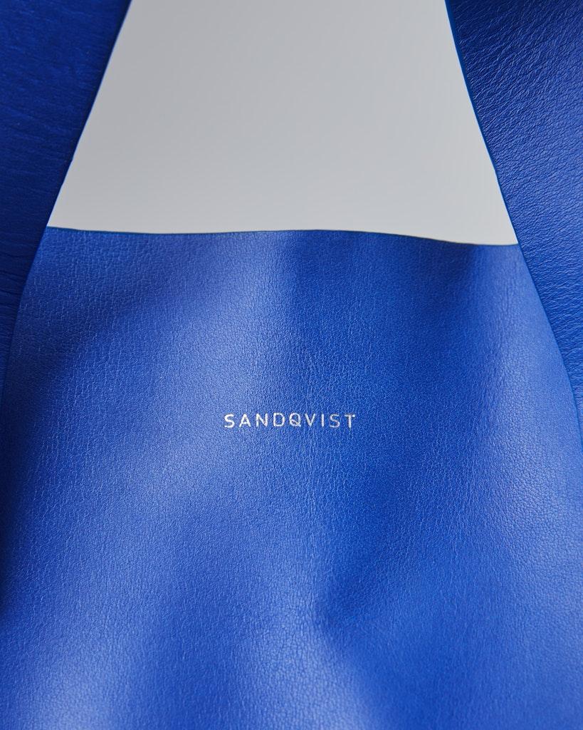 Sandqvist - Tote Bag - Blue and black - IRIS 2
