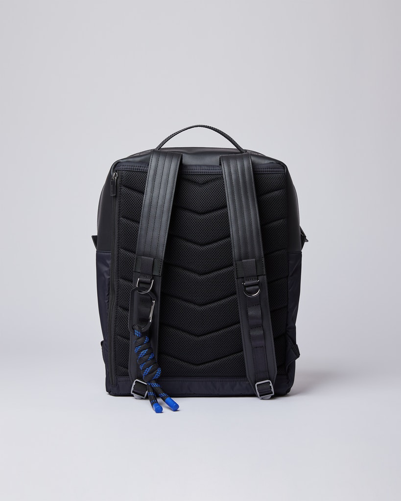 Sandqvist - Backpack - Black - VALDEMAR 3