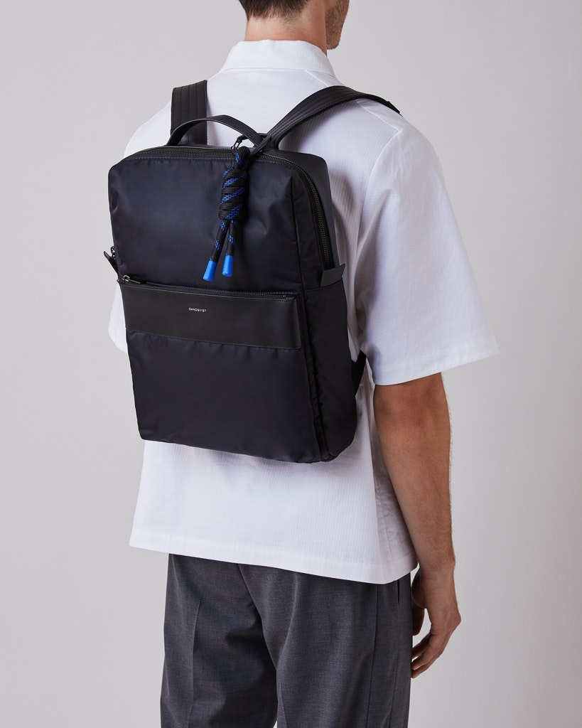 Sandqvist - Backpack - Black - VALDEMAR 2