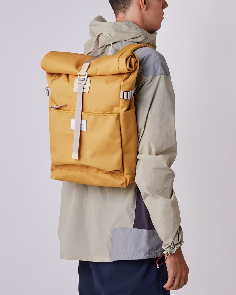 Sandqvist - Backpack - Yellow - ILON 2
