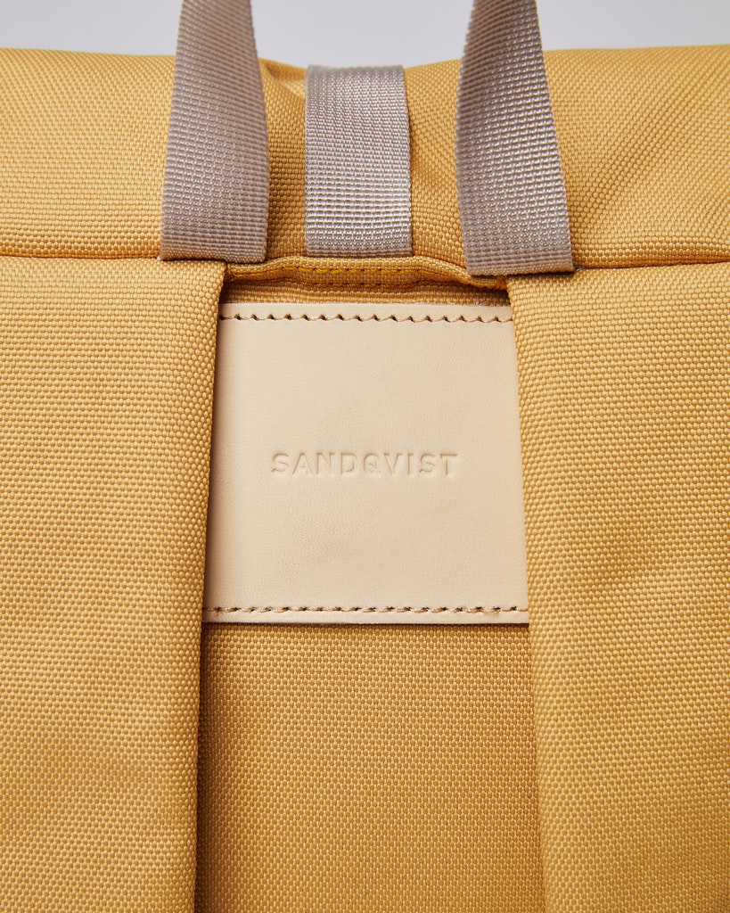 Sandqvist - Backpack - Yellow - ILON 4