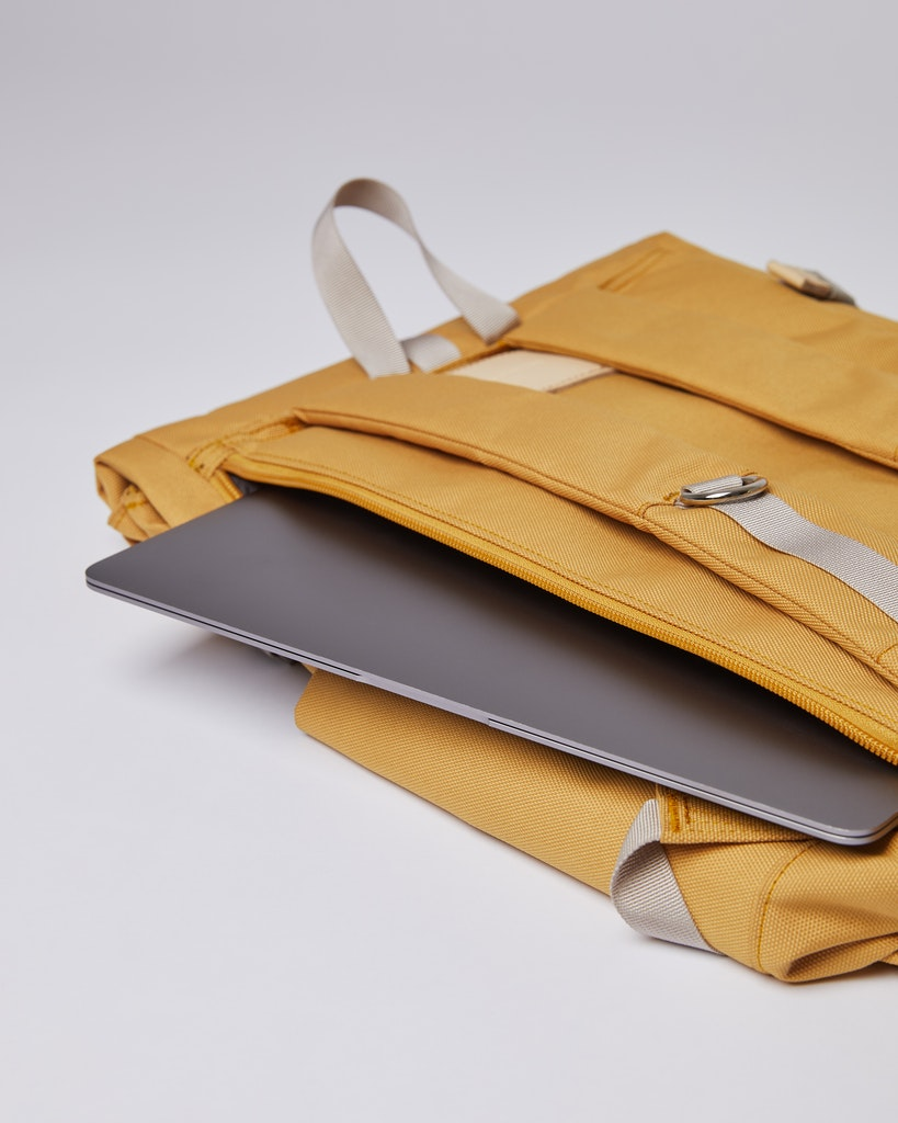 Sandqvist - Backpack - Yellow - ILON 5