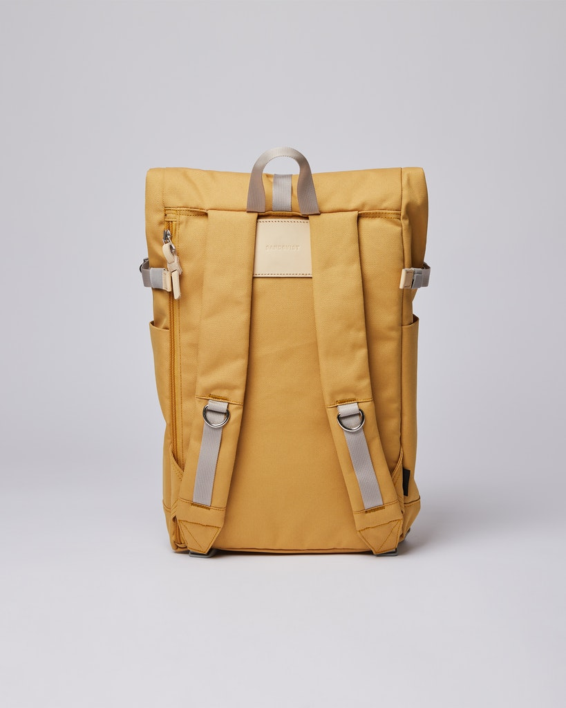 Sandqvist - Backpack - Yellow - ILON 3