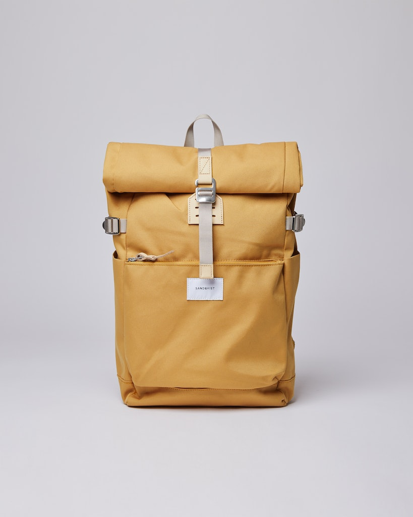 Sandqvist - Backpack - Yellow - ILON