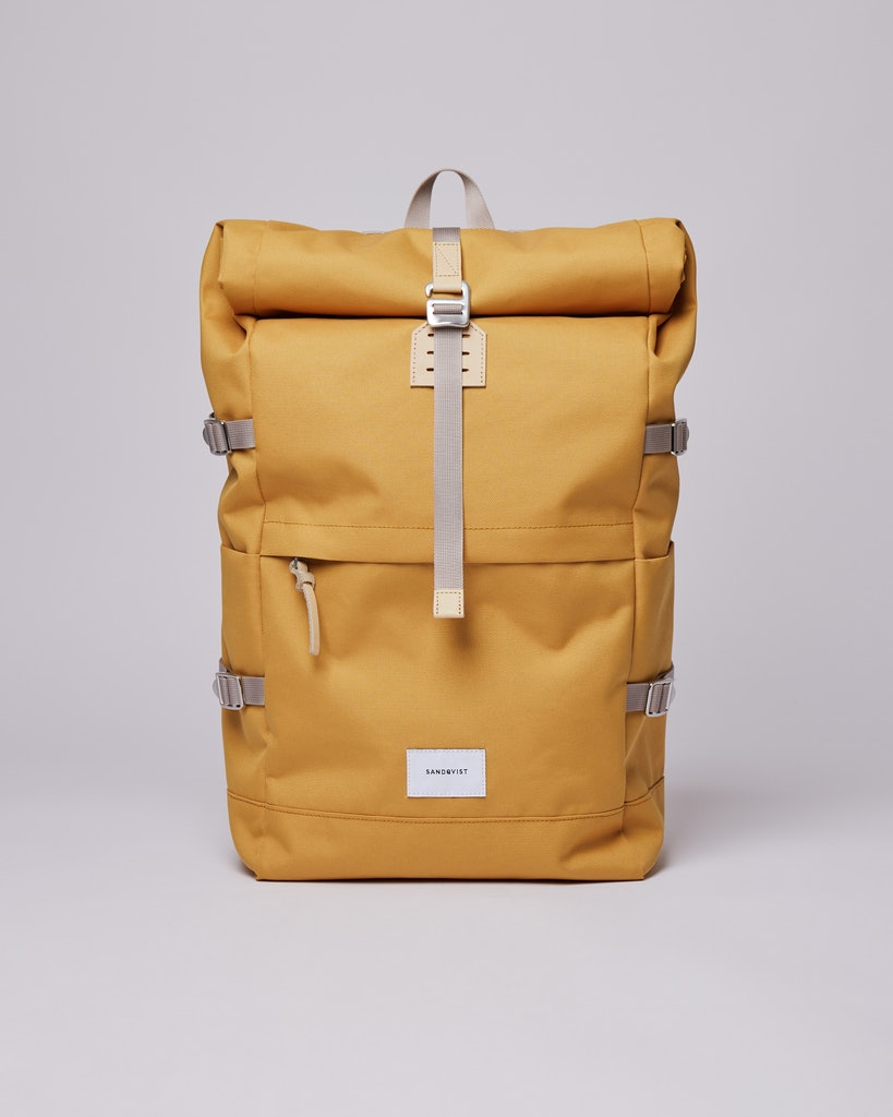 Sandqvist - Backpack - Yellow - BERNT