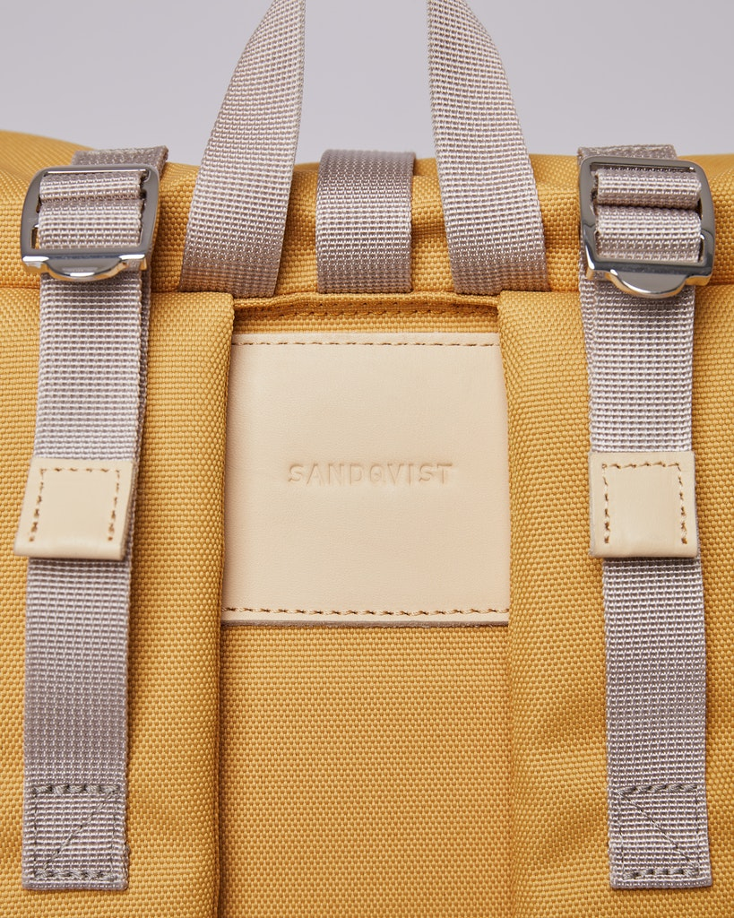 Sandqvist - Backpack - Yellow - BERNT 4