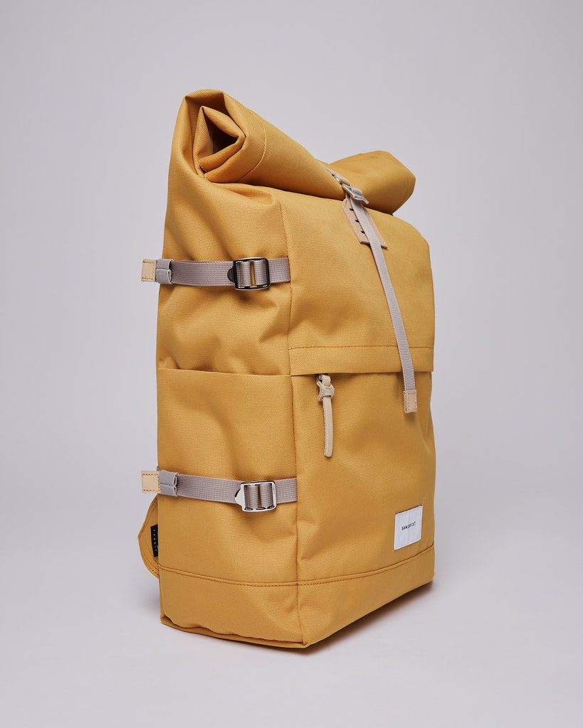 Sandqvist - Backpack - Yellow - BERNT 5
