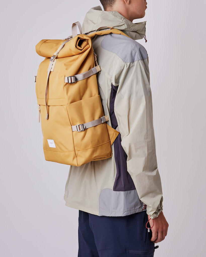 Sandqvist - Backpack - Yellow - BERNT 2