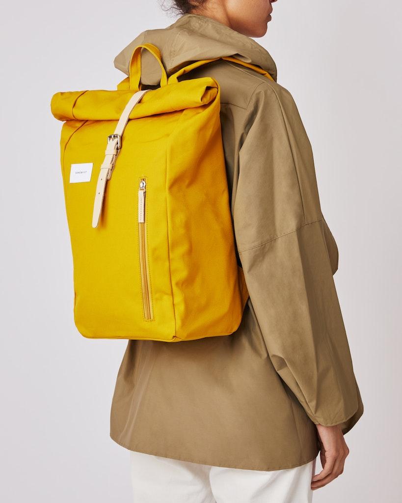 Sandqvist - Backpack - Yellow - DANTE 2