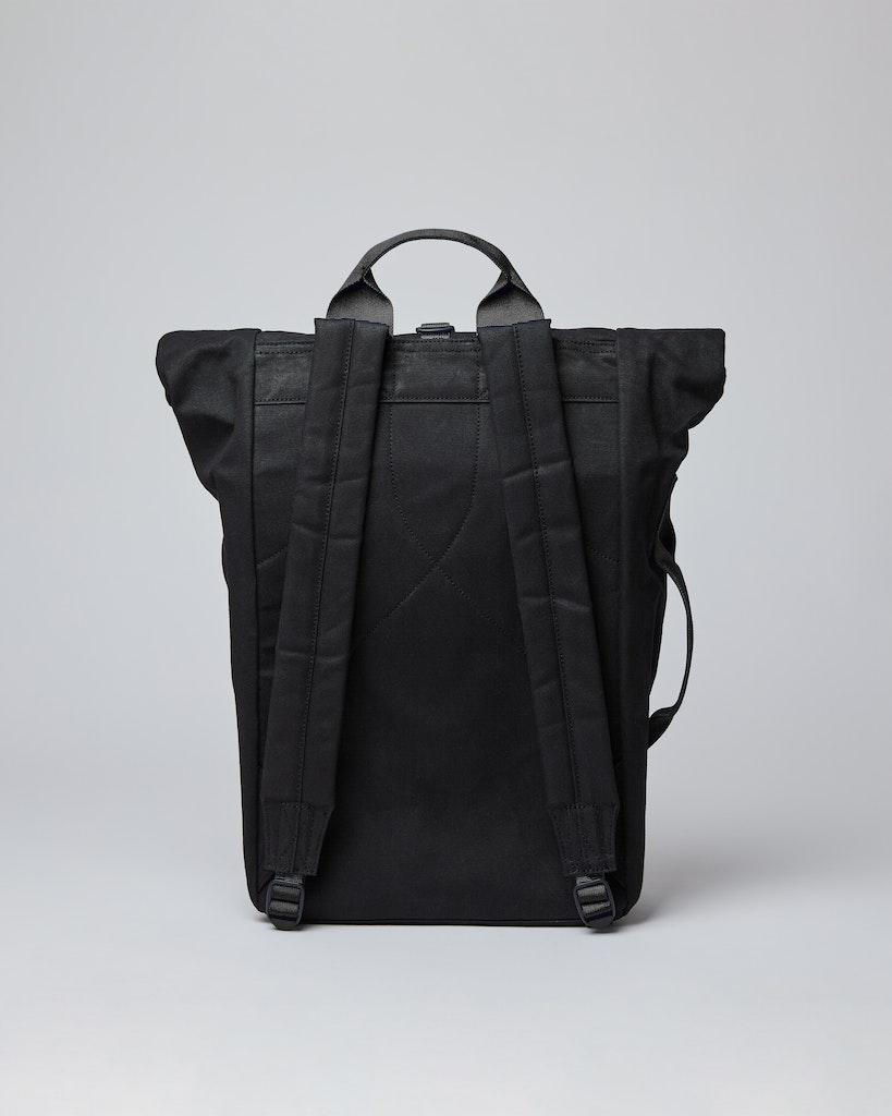 Sandqvist - Backpack - Black - Black webbing - DANTE METAL HOOK 3