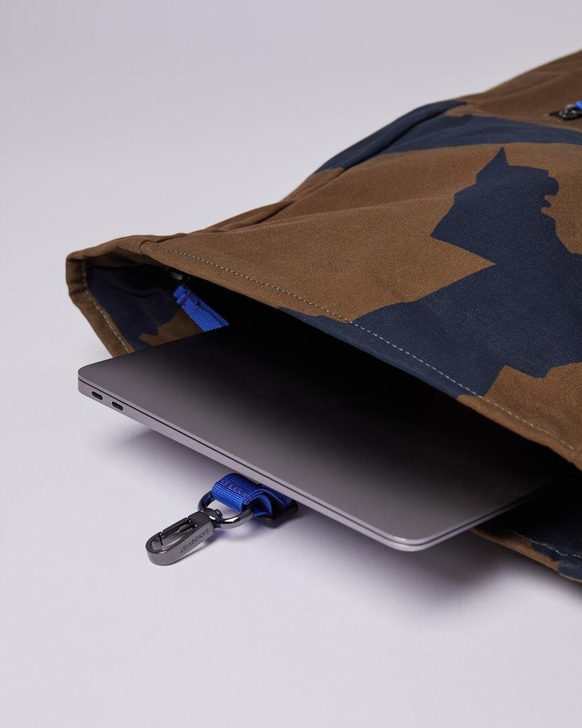 Sandqvist - Backpack - Neeric - Print - DANTE METAL HOOK 4