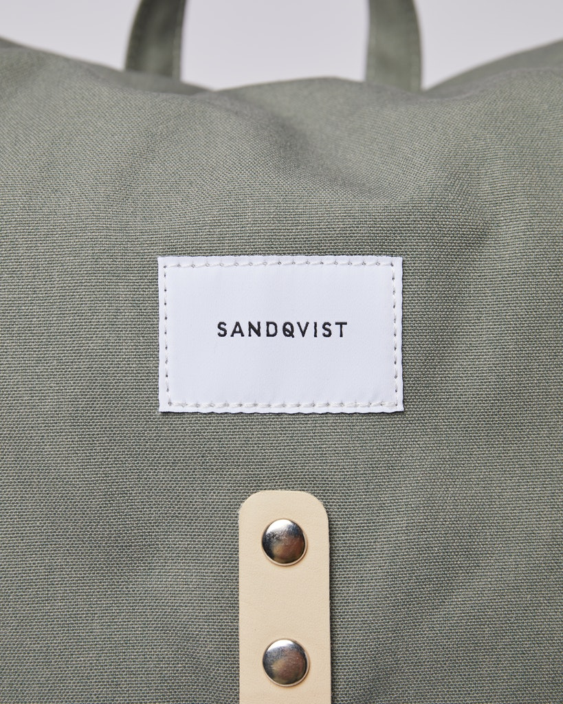 Sandqvist - Backpack - Dusty Green - ROALD 1