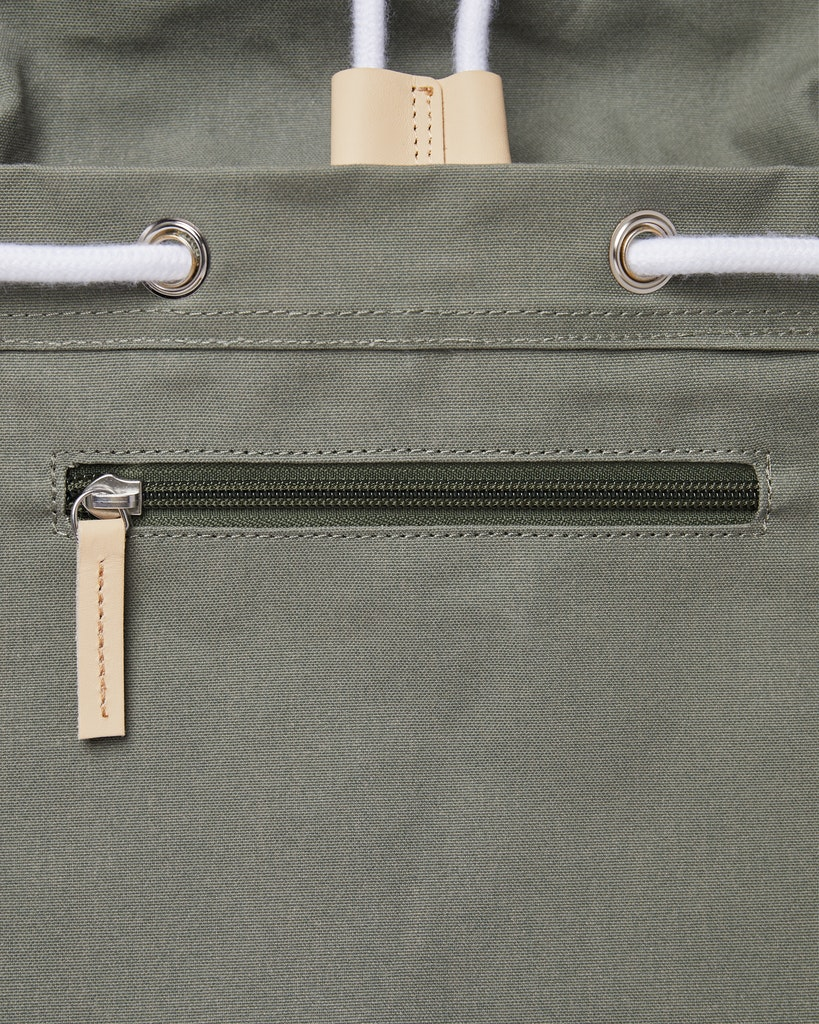 Sandqvist - Backpack - Dusty Green - ROALD 6
