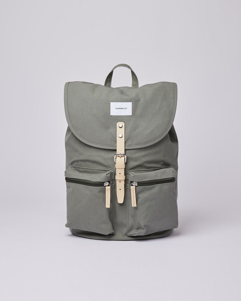 Sandqvist - Backpack - Dusty Green - ROALD