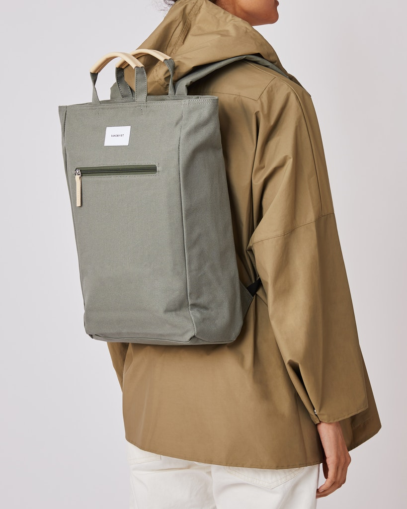 Sandqvist - Backpack - Dusty - Green - TONY 2
