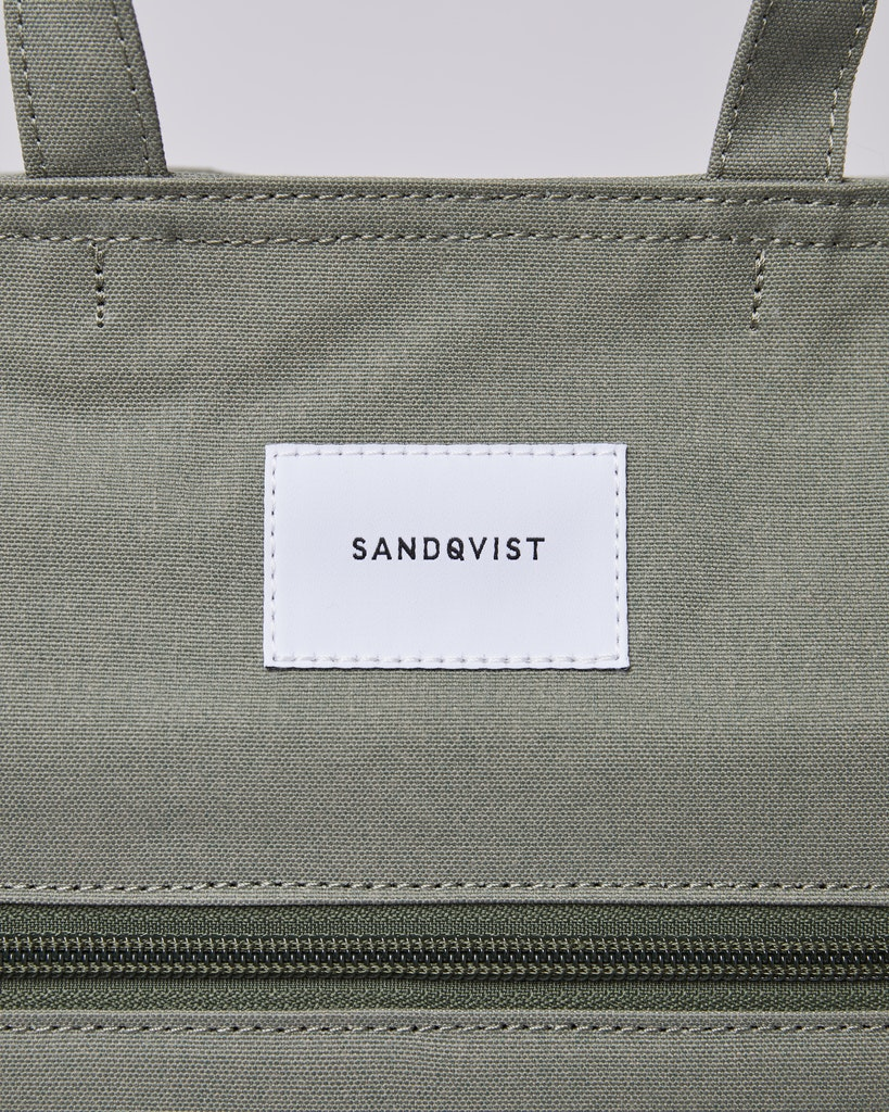 Sandqvist - Backpack - Dusty - Green - TONY 1