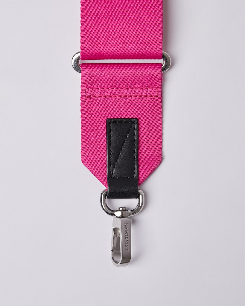 Sandqvist - Shoulder Strap - Pink - ADJUSTABLE SHOULDER STRAP  1
