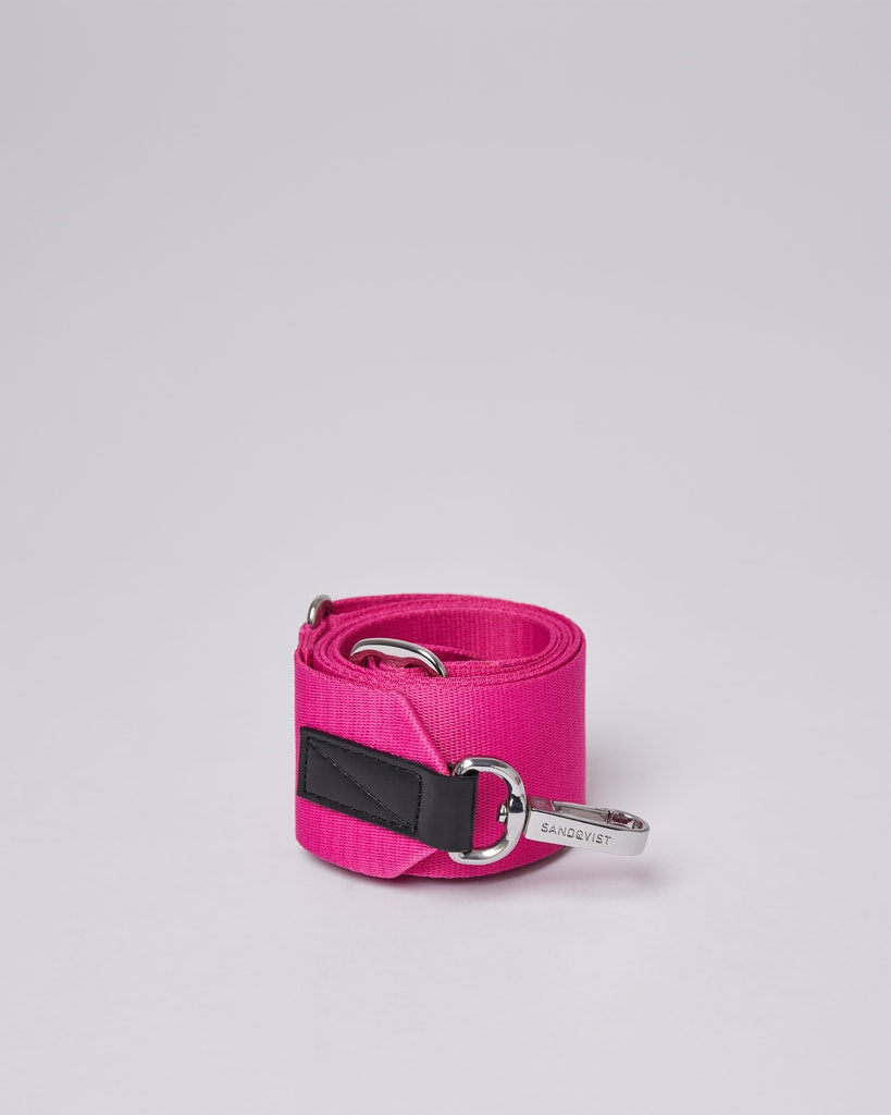 Sandqvist - Shoulder Strap - Pink - ADJUSTABLE SHOULDER STRAP