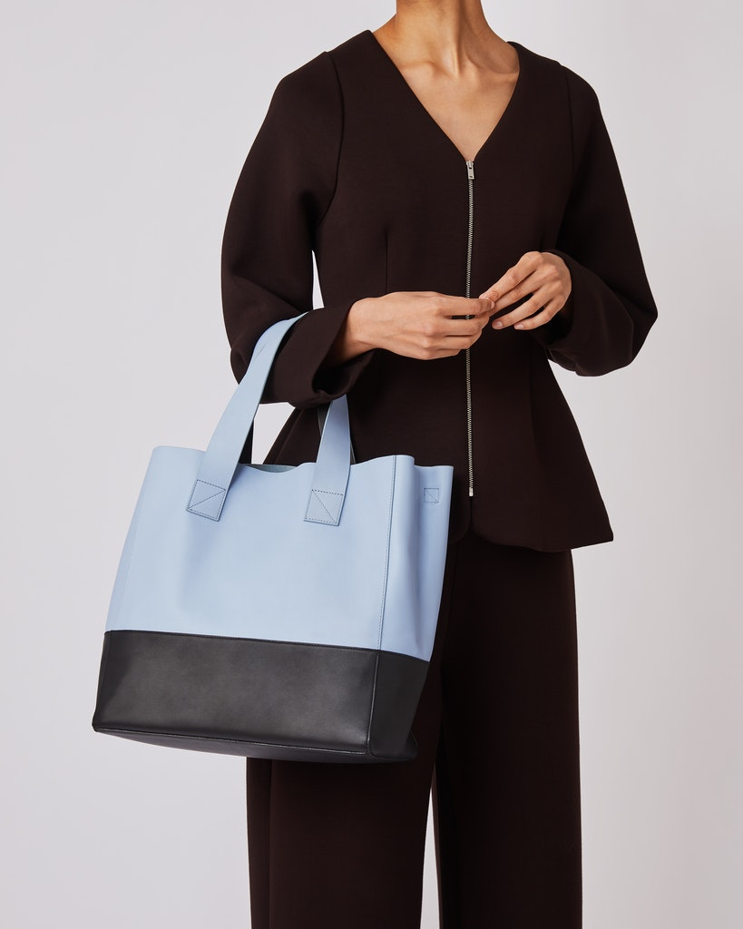 Sandqvist - Tote Bag - Sky blue - IRIS 2