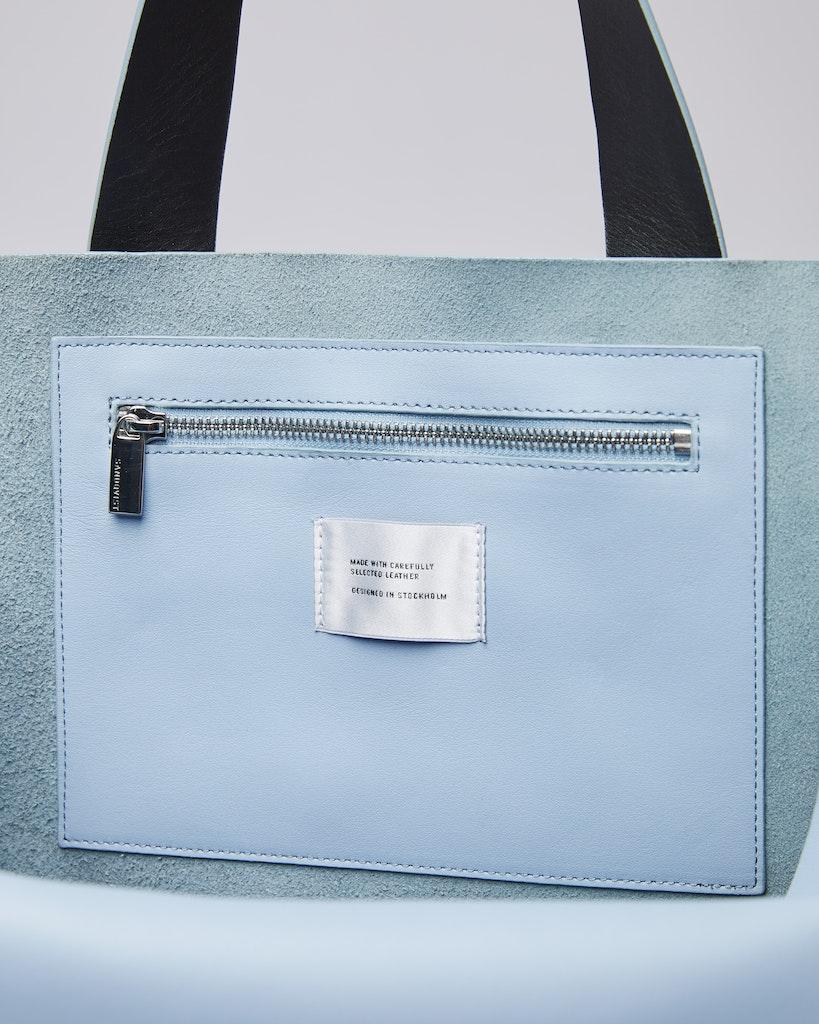 Sandqvist - Tote Bag - Sky blue - IRIS 4