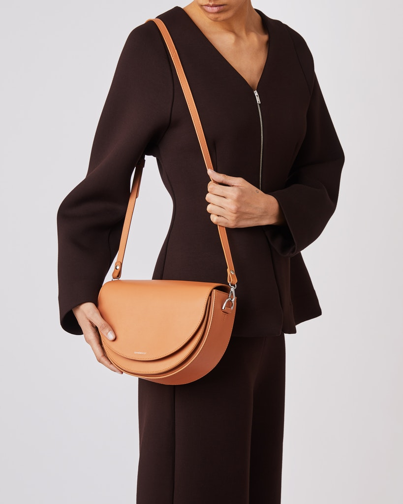 Sandqvist - Shoulder bag - Toffee - SELMA LEATHER 2