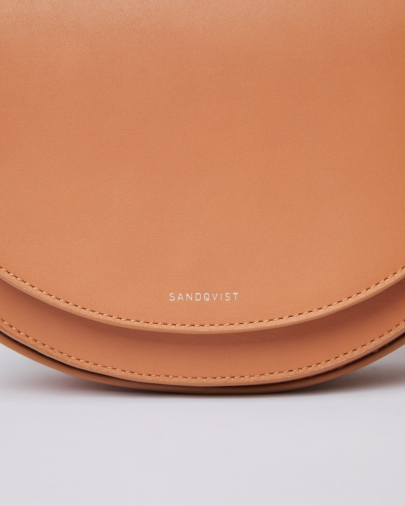 Sandqvist - Shoulder bag - Toffee - SELMA LEATHER 1