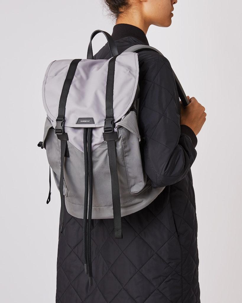 Sandqvist - Backpack - Grey - CHARLIE 2