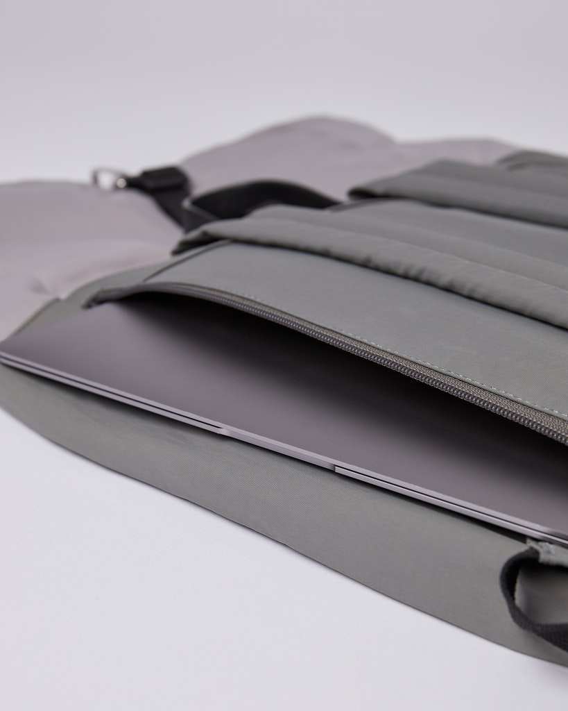 Sandqvist - Backpack - Grey - SIV 4