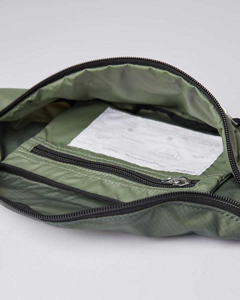 Sandqvist - Bum bag - Dusty - Green - ASTE LW 4