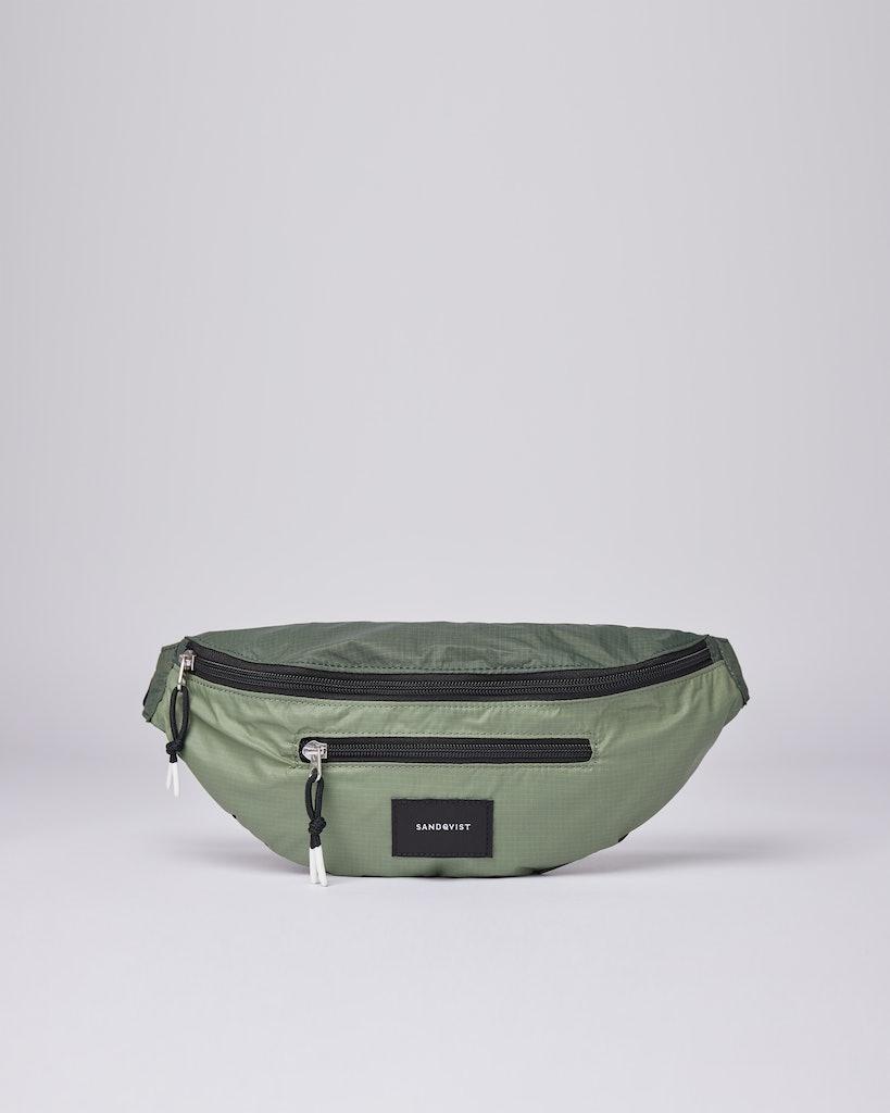 Sandqvist - Bum bag - Dusty - Green - ASTE LW