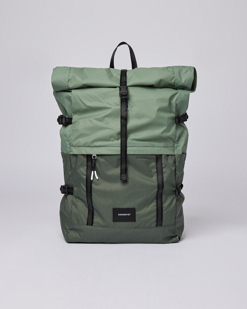 Sandqvist - Backpack - Dusty - Green - BERNT LIGHTWEIGHT