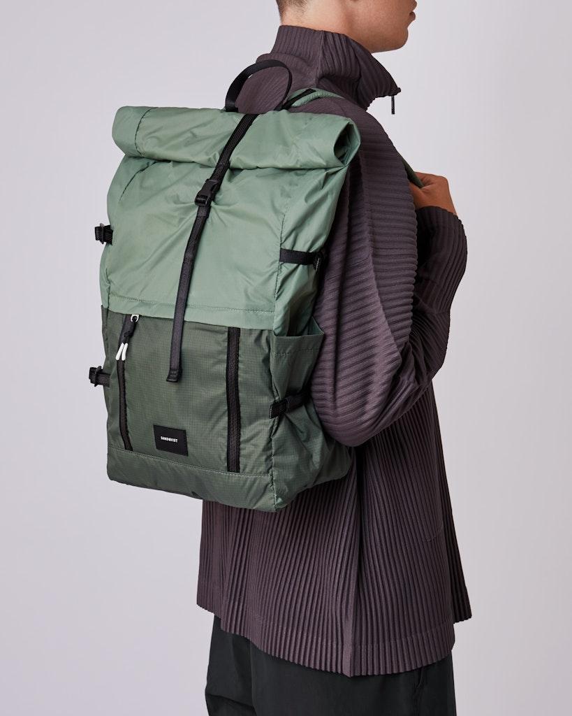 Sandqvist - Backpack - Dusty - Green - BERNT LIGHTWEIGHT 6
