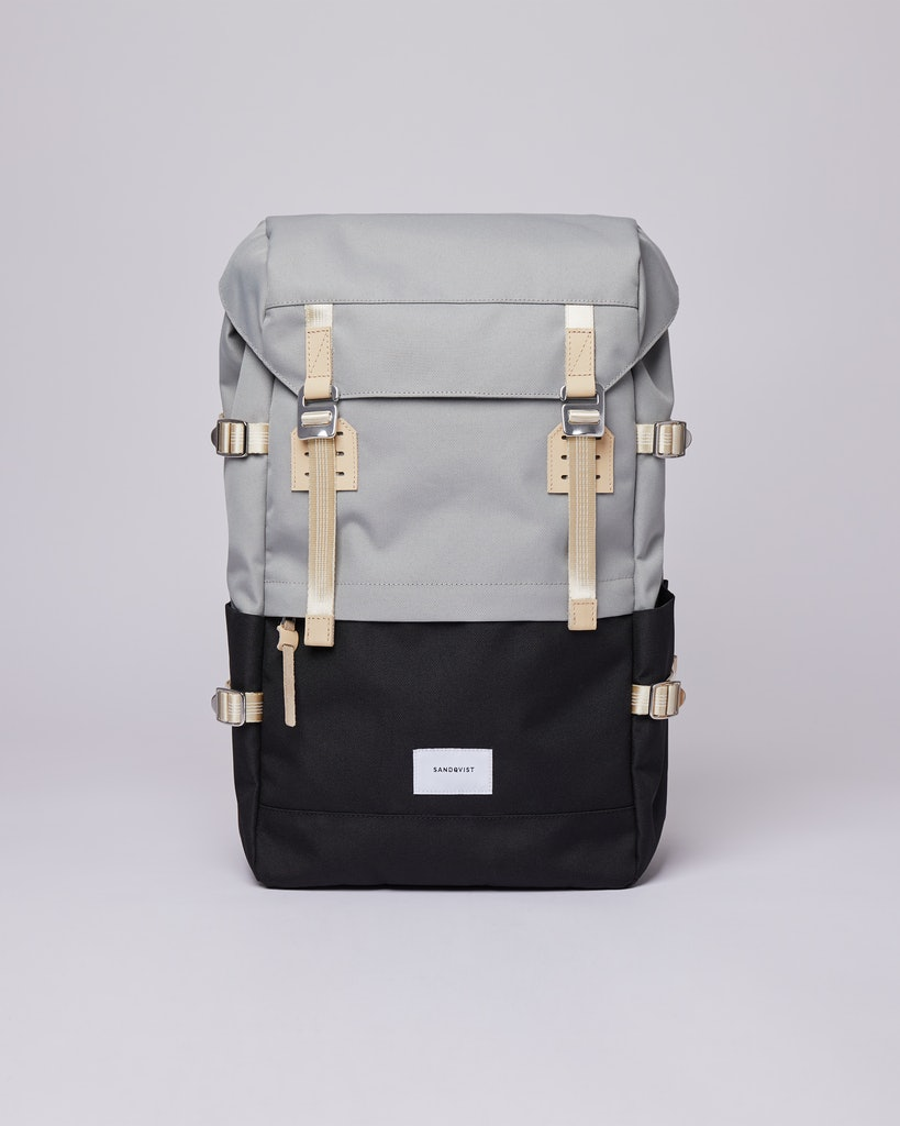 Sandqvist - Backpack - Multi - Grey - Black - HARALD