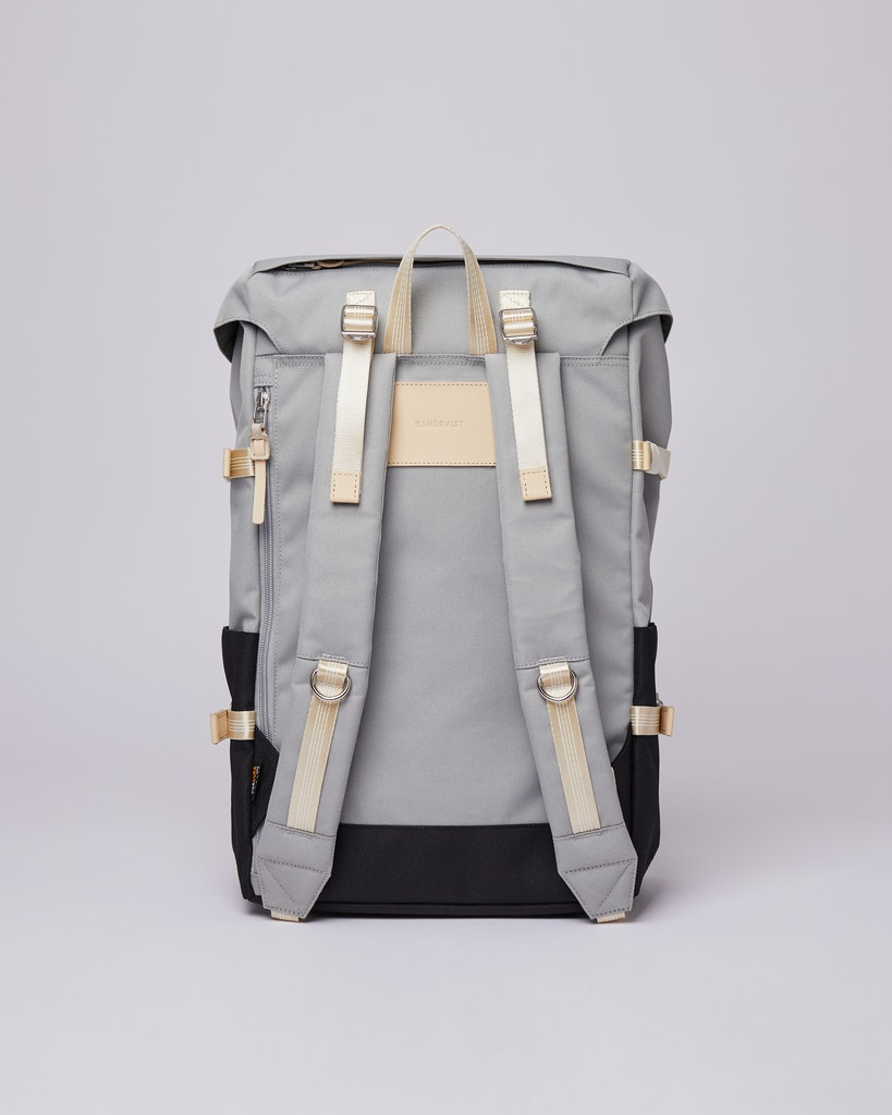 Sandqvist - Backpack - Multi - Grey - Black - HARALD 3