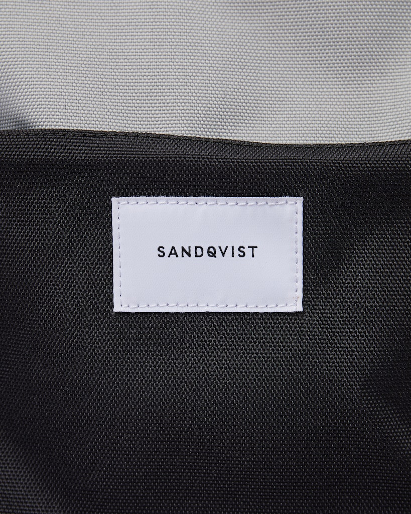 Sandqvist - Backpack - Grey Black - ILON 1
