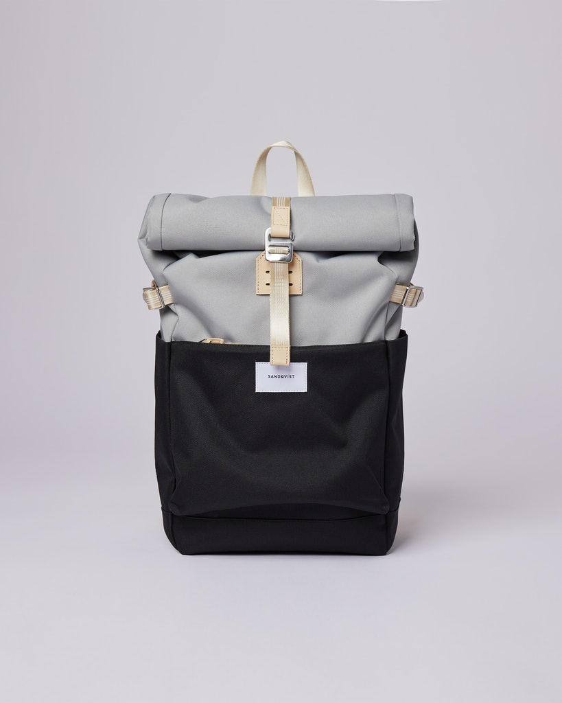 Sandqvist - Backpack - Grey Black - ILON