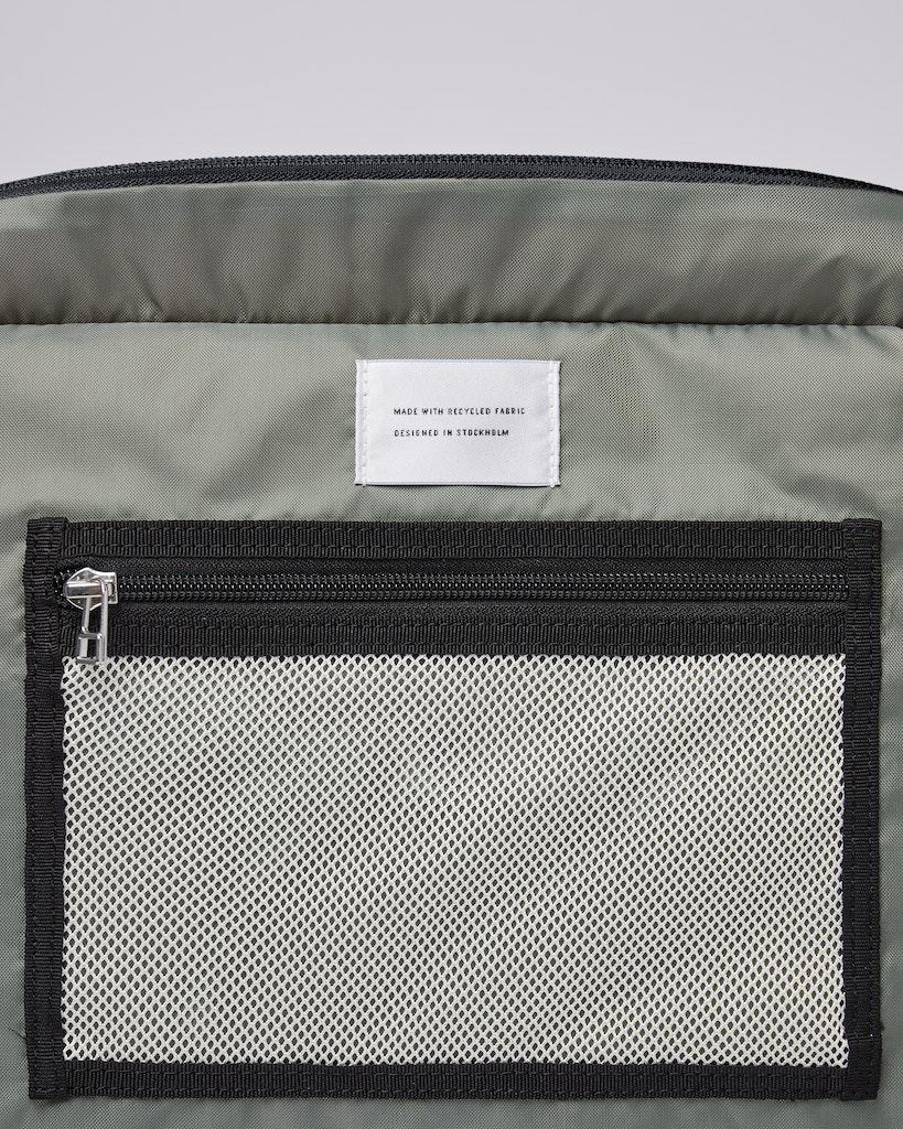 Sandqvist - Backpack - Grey - Black - ROGER 6