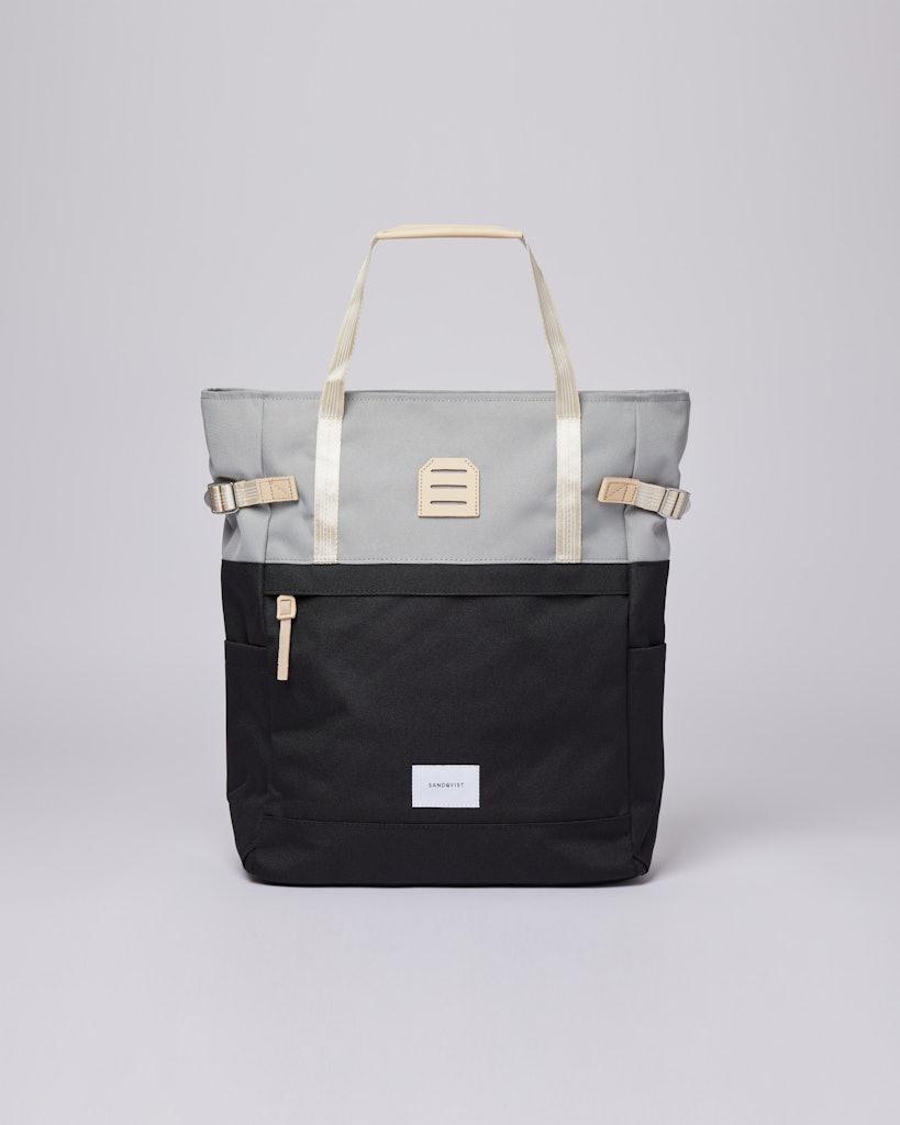Sandqvist - Backpack - Grey - Black - ROGER