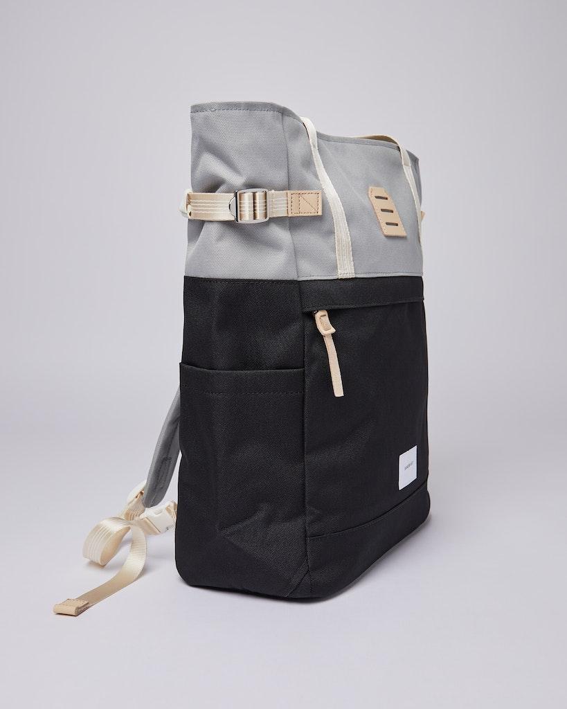 Sandqvist - Backpack - Grey - Black - ROGER 4